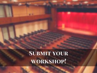 Workshop Proposals Due Promo